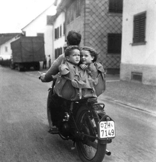 in moto con papà 2