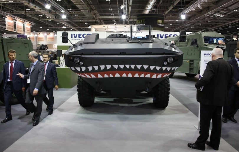Arms Trade Show At Excel