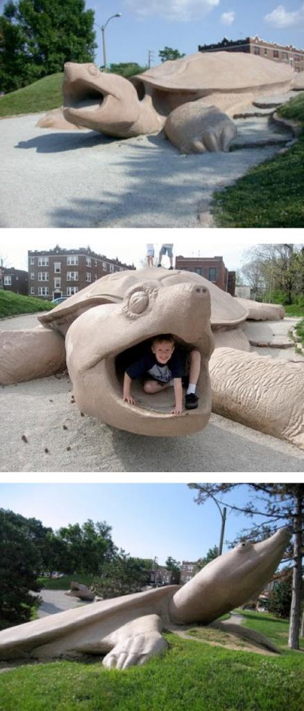 Playground tartaruga