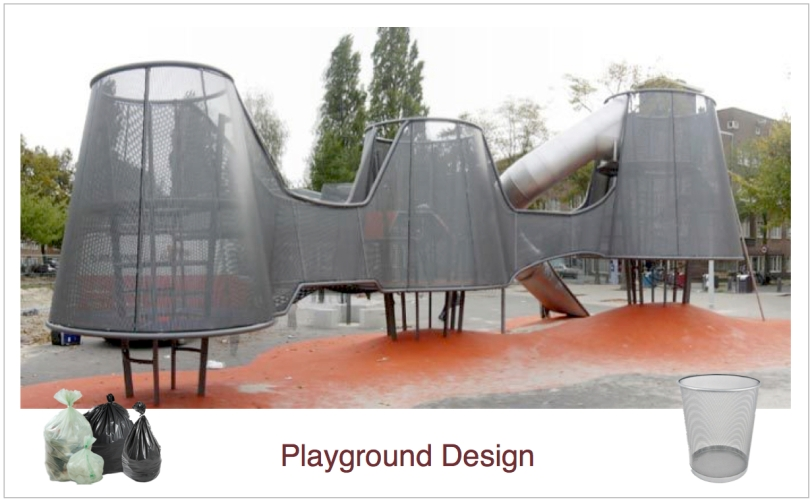 Nuovo playground design